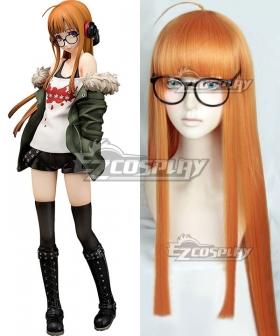 Persona 5 Futaba Sakura Orange Cosplay Wig - Only Wig