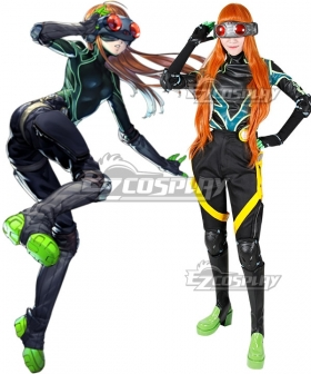 Persona 5 Navi Futaba Sakura Cosplay Costume - No Blinkers and Glasses