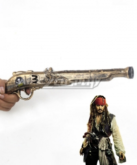 Pirates of the Caribbean Captain Jack Sparrow Pirate Gun Halloween Cosplay Weapon Prop
