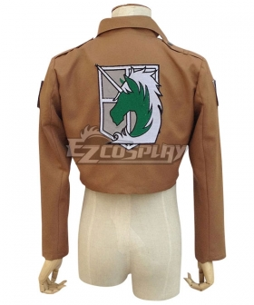 Attack on Titan Shingeki no Kyojin Military Police Regiment Nile Dawk Cosplay Costume - Only Jacket