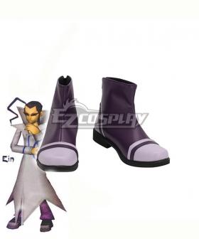 Pokemon Colosseum Ein Black Cosplay Shoes