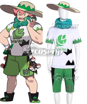 Pokemon Pokémon Sword And Pokémon Shield Milo Cosplay Costume