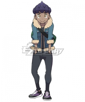 Pokemon Pokémon Sword And Pokémon Shield Rival Hop Cosplay Costume