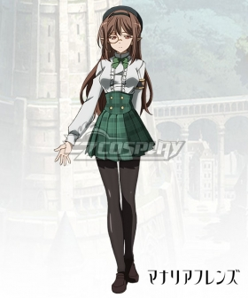 Rage of Bahamut: Manaria Friends Shingeki no Bahamut Manaria Friends Popi Cosplay Costume