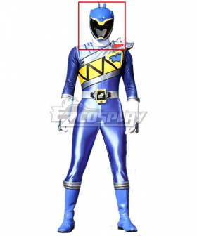 Power Rangers Dino Charge Dino Charge Blue Ranger Helmet Cosplay Accessory Prop
