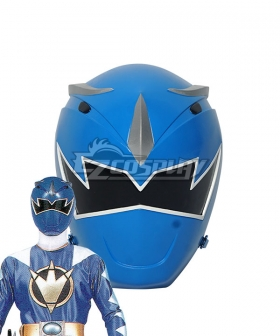 Power Rangers Dino Thunder Blue Dino Ranger Helmet 3D Printed Cosplay Accessory Prop