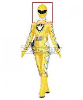 Power Rangers Dino Thunder Yellow Dino Ranger Helmet 3D Printed Cosplay Accessory Prop