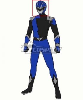 Power Rangers HyperForce HyperForce Blue Helmet 3D Printed Cosplay Accessory Prop