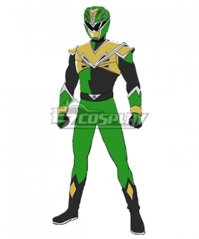 Power Rangers HyperForce HyperForce Green Cosplay Costume