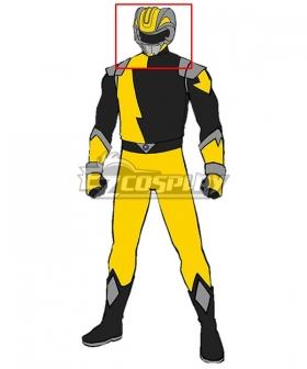 Power Rangers HyperForce HyperForce Yellow Helmet 3D Printed Cosplay Accessory Prop