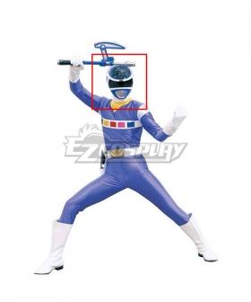 Power Rangers In Space Blue Space Ranger Helmet 3D Printed Cosplay Accessory Prop