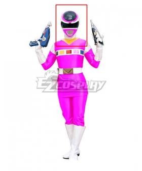 Power Rangers In Space Pink Space Ranger Helmet 3D Printed Cosplay Accessory Prop