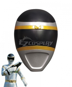 Power Rangers In Space Silver Space Ranger Helmet 3D Printed Cosplay Accessory Prop