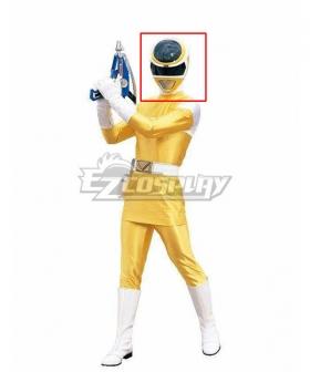 Power Rangers In Space Yellow Space Ranger Helmet 3D Printed Cosplay Accessory Prop