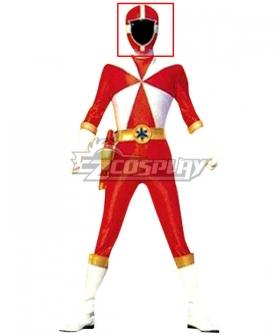 Power Rangers Lightspeed Rescue Red Lightspeed Ranger Helmet Cosplay Accessory Prop