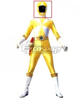 Power Rangers Lightspeed Rescue Yellow Lightspeed Ranger Helmet Cosplay Accessory Prop