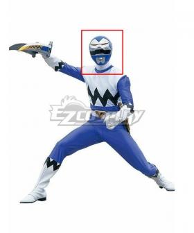 Power Rangers Lost Galaxy Galaxy Blue Helmet Cosplay Accessory Prop