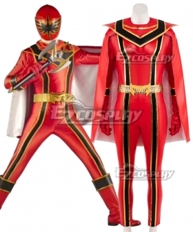 Power Rangers Mystic Force Red Mystic Ranger Cosplay Costume