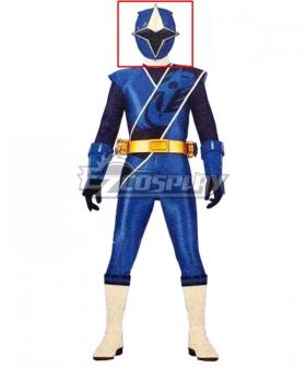 Power Rangers Ninja Steel Ninja Steel Blue Helmet 3D Printed Cosplay Accessory Prop