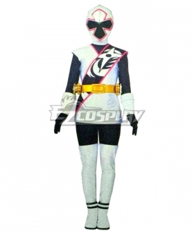 Power Rangers Ninja Steel Ninja Steel White Cosplay Costume
