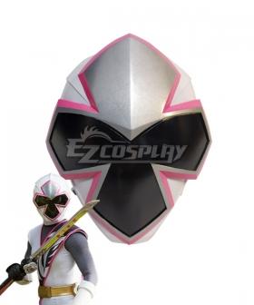 Power Rangers Ninja Steel Ninja Steel White Helmet 3D Printed Cosplay Accessory Prop