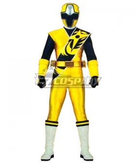 Power Rangers Ninja Steel Ninja Steel Yellow Cosplay Costume