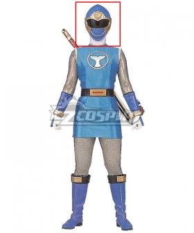 Power Rangers Ninja Storm Blue Wind Ranger Helmet 3D Printed Cosplay Accessory Prop