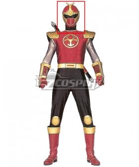 Power Rangers Ninja Storm Crimson Thunder Ranger Helmet 3D Printed Cosplay Accessory Prop