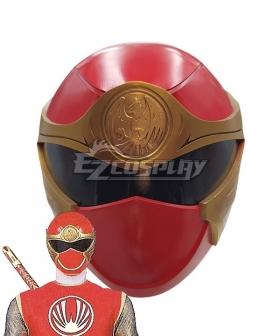 Power Rangers Ninja Storm Red Wind Ranger Helmet 3D Printed Cosplay Accessory Prop