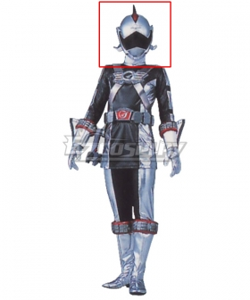 Power Rangers RPM Ranger Operator Series Silver Helmet Cosplay Accessory Prop