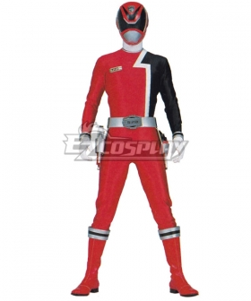 Power Rangers Rules Red SPD Ranger Cosplay Costume