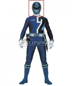 Power Rangers S.P.D. SPD Blue Ranger Helmet Cosplay Accessory Prop