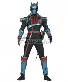 Power Rangers S.P.D. SPD Shadow Ranger Cosplay Costume