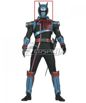 Power Rangers S.P.D. SPD Shadow Ranger Helmet Cosplay Accessory Prop