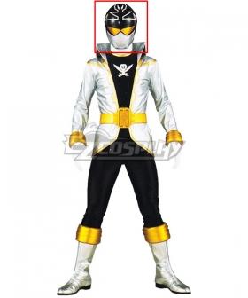 Power Rangers Super Megaforce Super Megaforce Silver Helmet Cosplay Accessory Prop