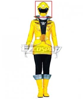 Power Rangers Super Megaforce Super Megaforce Yellow Helmet Cosplay Accessory Prop