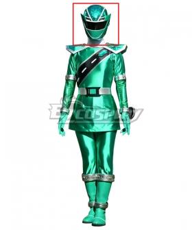 Power Rangers Super Sentai Mashin Sentai Kiramager Kiramai Green Helmet Cosplay Accessory Prop