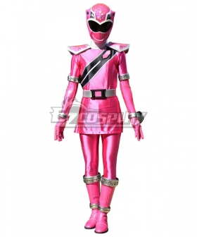 Power Rangers Super Sentai Mashin Sentai Kiramager Kiramai Pink Cosplay Costume