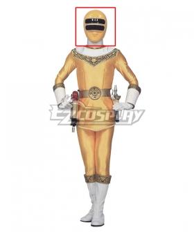 Power Rangers Zeo Ranger II Yellow Helmet Cosplay Accessory Prop