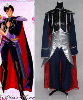 Prince Darian Cosplay Costume From Sailor Moon