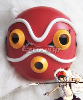 Princess Mononoke San Halloween Mask Cosplay Accessory Prop