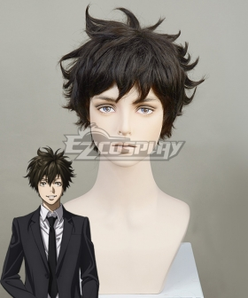Psycho Pass 3 Arata Shindou Black Cosplay Wig