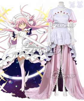 Puella Magi Madoka Magica Kaname Madoka Angel Cosplay Costume