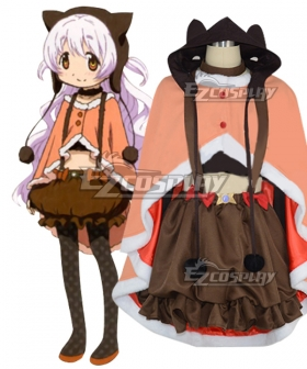 Puella Magi Madoka Magica the Movie: Rebellion Nagisa Momoe Charlotte Bebe Cosplay Costume