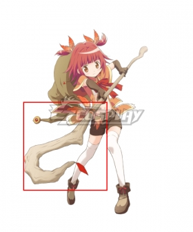Magia Record: Puella Magi Madoka Magica Side Story Magireco Kaede Akino Cosplay Weapon Prop