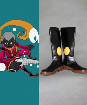 Pyunma of Cyborg 008 Cosplay Shoes
