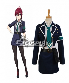 RAIL WARS! Aoi Sakurai Uniform Cosplay Costume