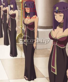 Queen's Blade Amaran Servants Headwear and Necklace Cosplay Accessory Prop
