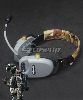 Rainbow Six Ela Headset Cosplay Accessory Prop