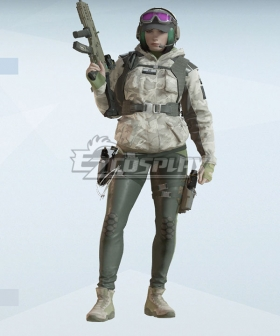 Rainbow Six Siege Ela Cosplay Costume - Only Coat